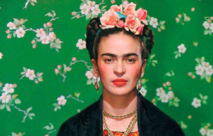 "ART REVIEW - Frida Kahlo exhibition - ""Making herself up"""