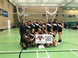 Victory for Volleyball in landslide win