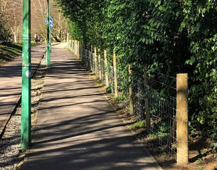 University and Union erect wall on Eliot footpath amid new security measures