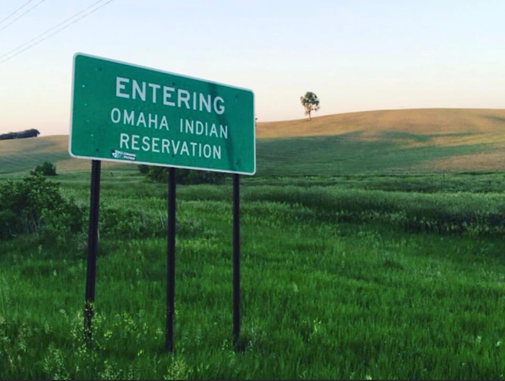 Omaha Indian Reservation by LeAndra Nephin