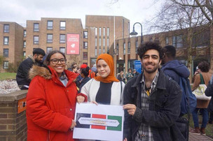 Kent students take action against 'Punish a Muslim day'