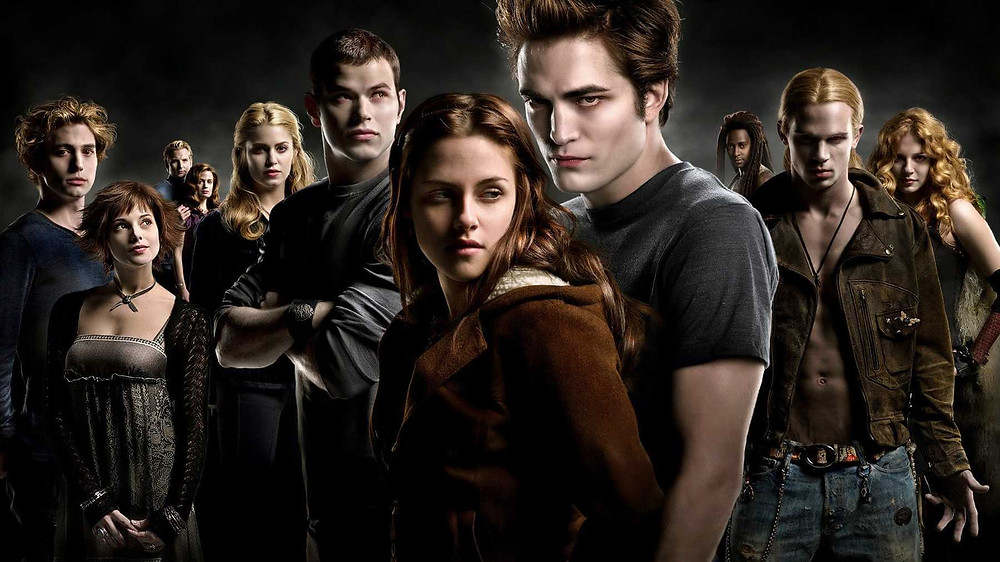 The cast of the Paramount adaptation of the Twilight book saga