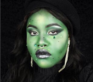 2019's Halloween makeup update