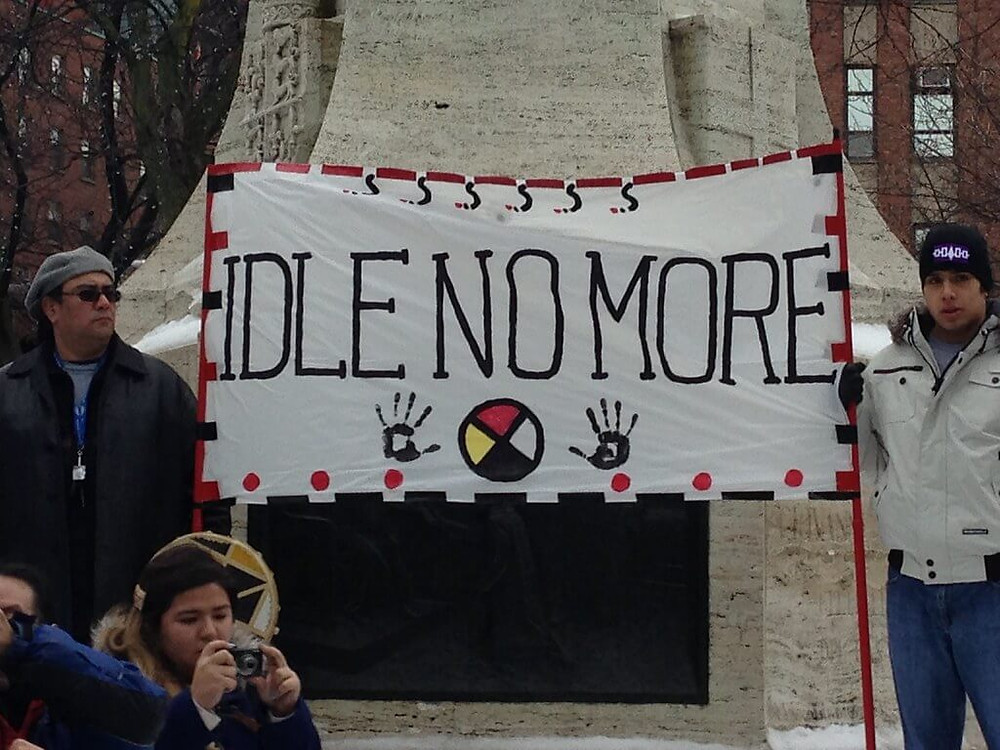Idle No More movement by Flickr