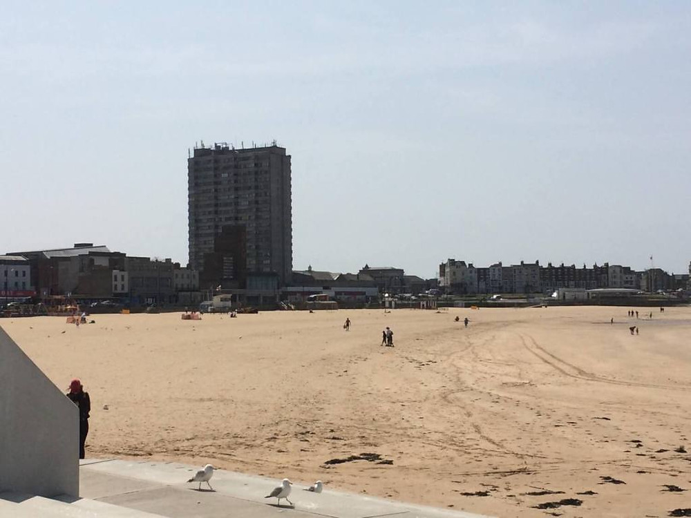 In spite of its beach, Margate is an ugly town.