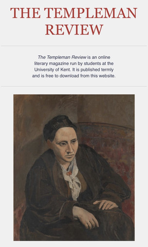The Templeman Review: A new student-led literary magazine at the University of Kent