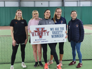 Women's Tennis Varsity: Positivity and Perseverance on Point