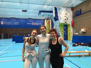 Fencing trio's epic win puts them in the UK's top eight