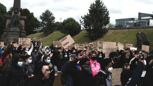 Kent Students attend Black Lives Matter protests in Canterbury