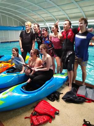 Kayak Polo makes a splash on Varsity debut