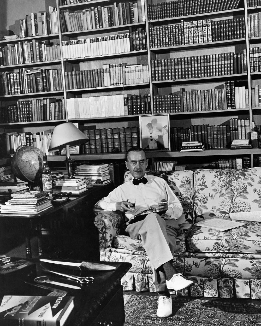 Thomas Mann, image courtesy of Flashbak