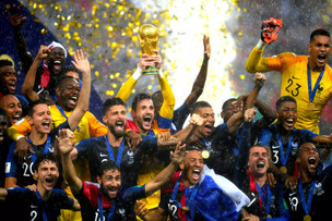World Cup winners France shows the beauty of diversty