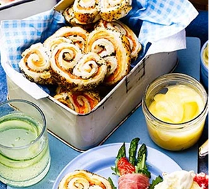 Picnic food inspiration for a sunny day