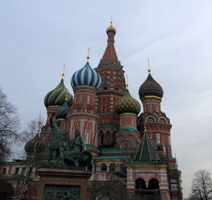 My trip to Moscow
