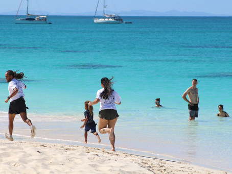 From Antigua Triathlons to Barbuda Social Distancing Practices