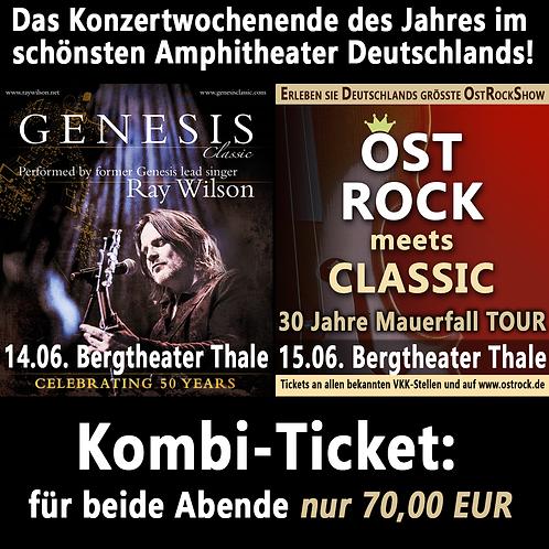 14.06. & 15.06.2019 Thale Bergtheater | Sitzplatz KAT 1