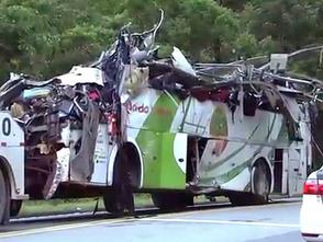 Falha nos freios causou acidente de ônibus na Mogi-Bertioga, diz perícia