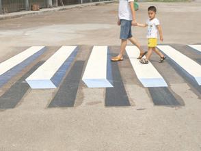 Índia encontra forma criativa de obrigar motoristas a diminuir a velocidade