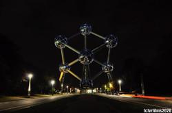 Atomium By Night