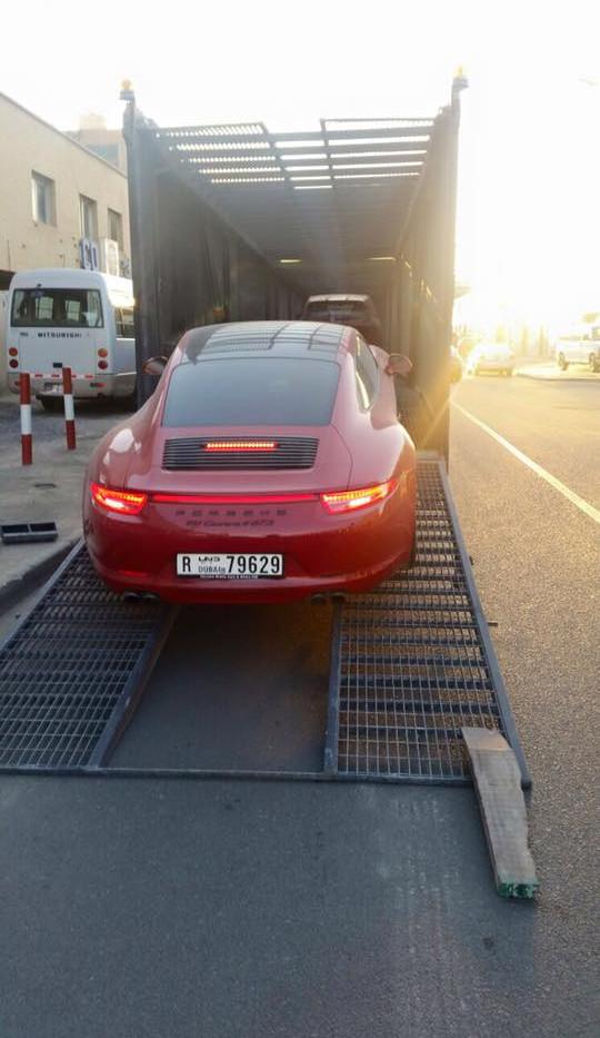Luxury car shipping dubai