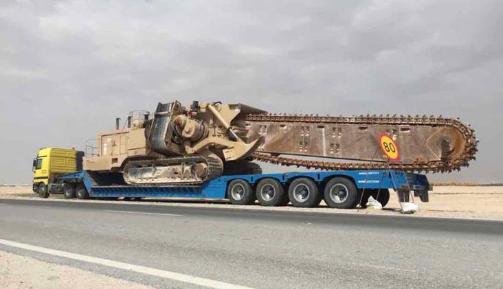Wide loads Dubai