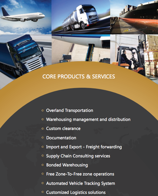 Global logistics Dubai