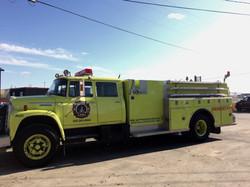 Fire Foam Truck