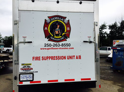Fire Suppression back view