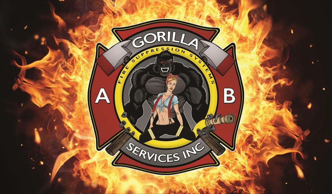 gorilla fire bcards