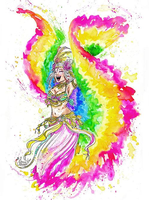 Pride Belly Dancer