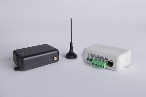 Bidirezionale GPRS/LAN con Simulatore PSTN