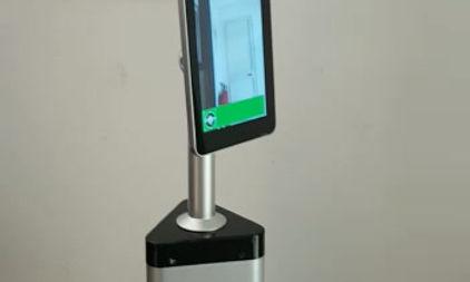 supertech tvcc - tablet GANZ per il riconoscimento facciale della temperatura corporea
