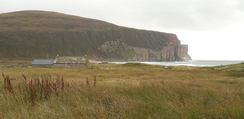 Rackwick bay in Hoy Orkney