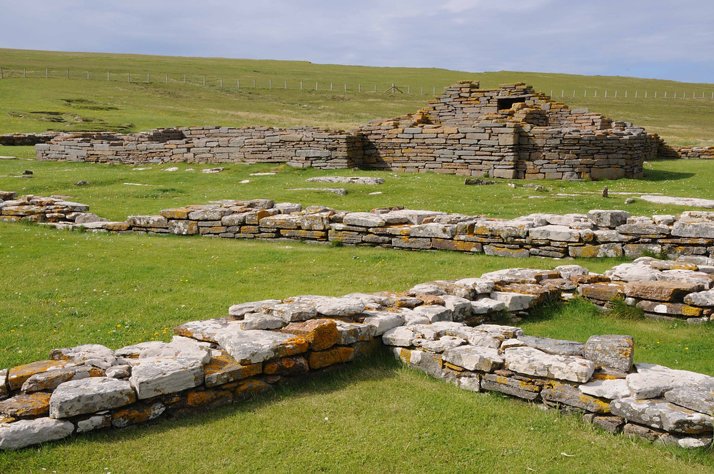 The early 12th century Norse church on the Brough of Birsay
