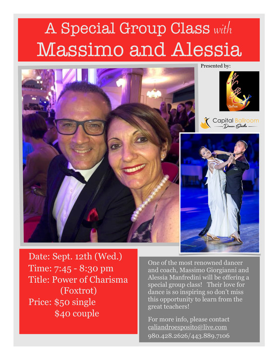 Master Workshop with Ballroom LEGENDS!!