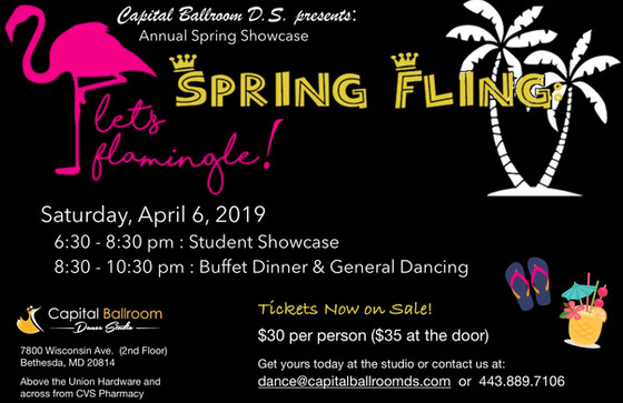Spring Showcase is Less than 2 weeks Away!
