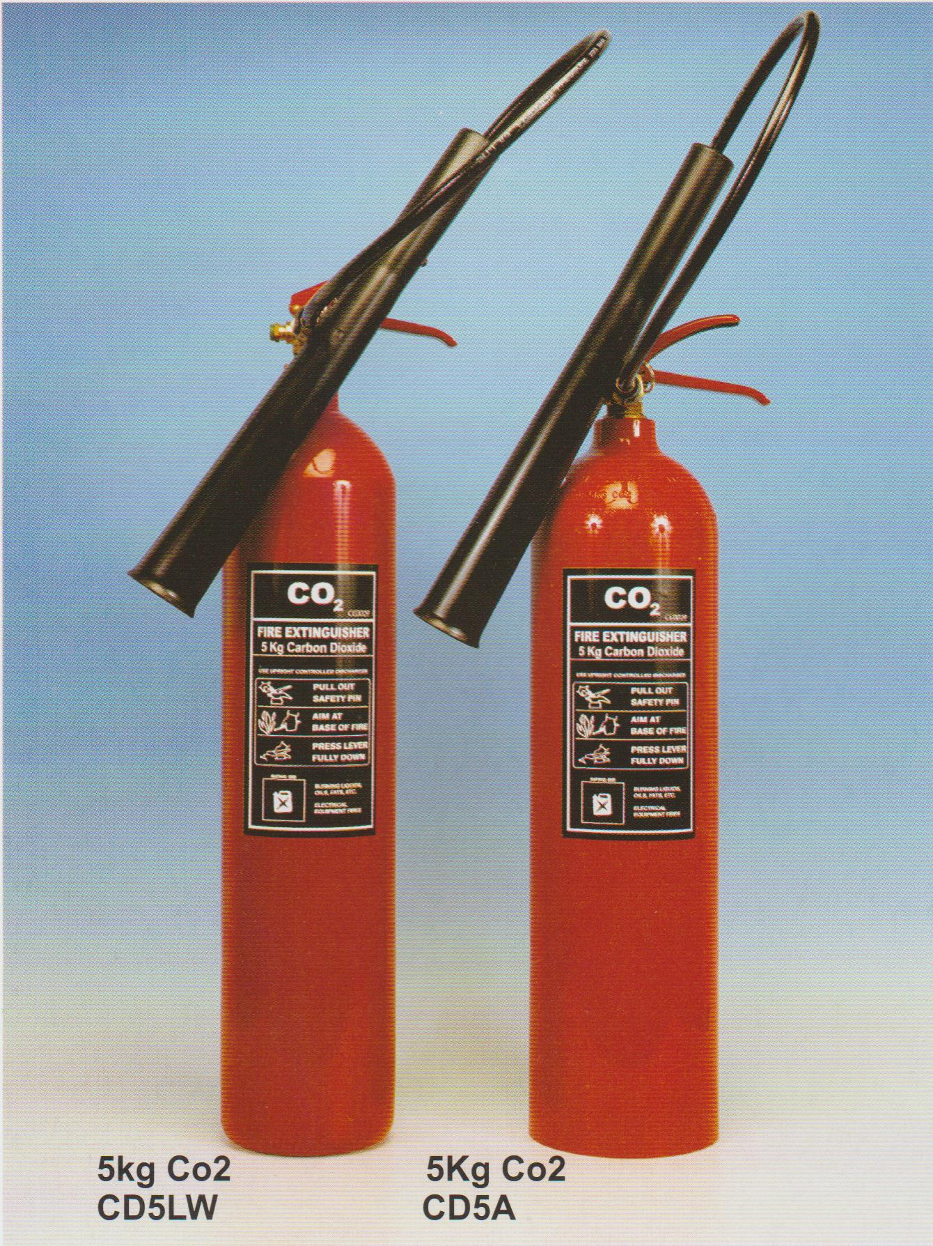 5 kg Co2 Extinguishers 001