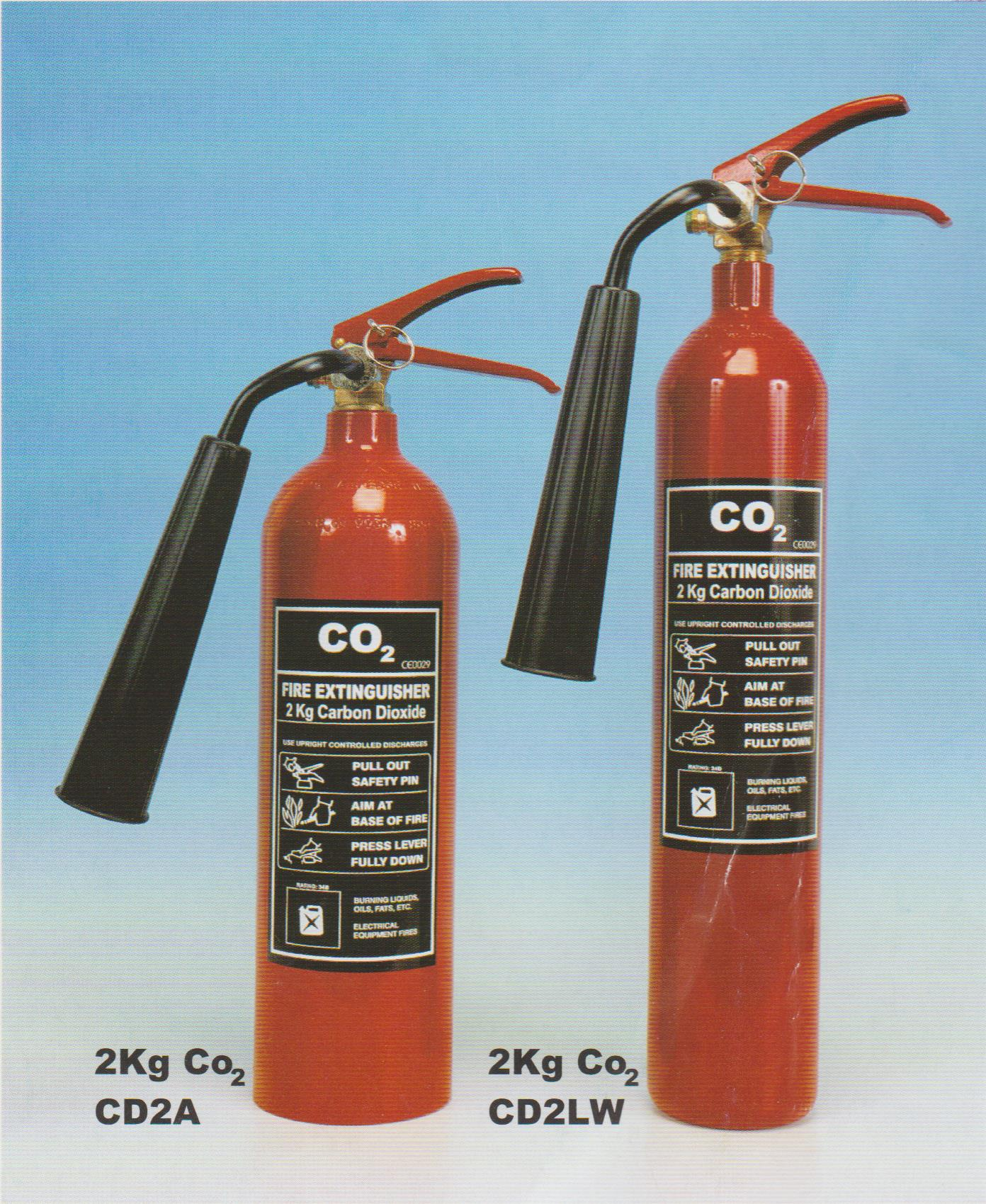 2 kg CO2 Extinguishers 001