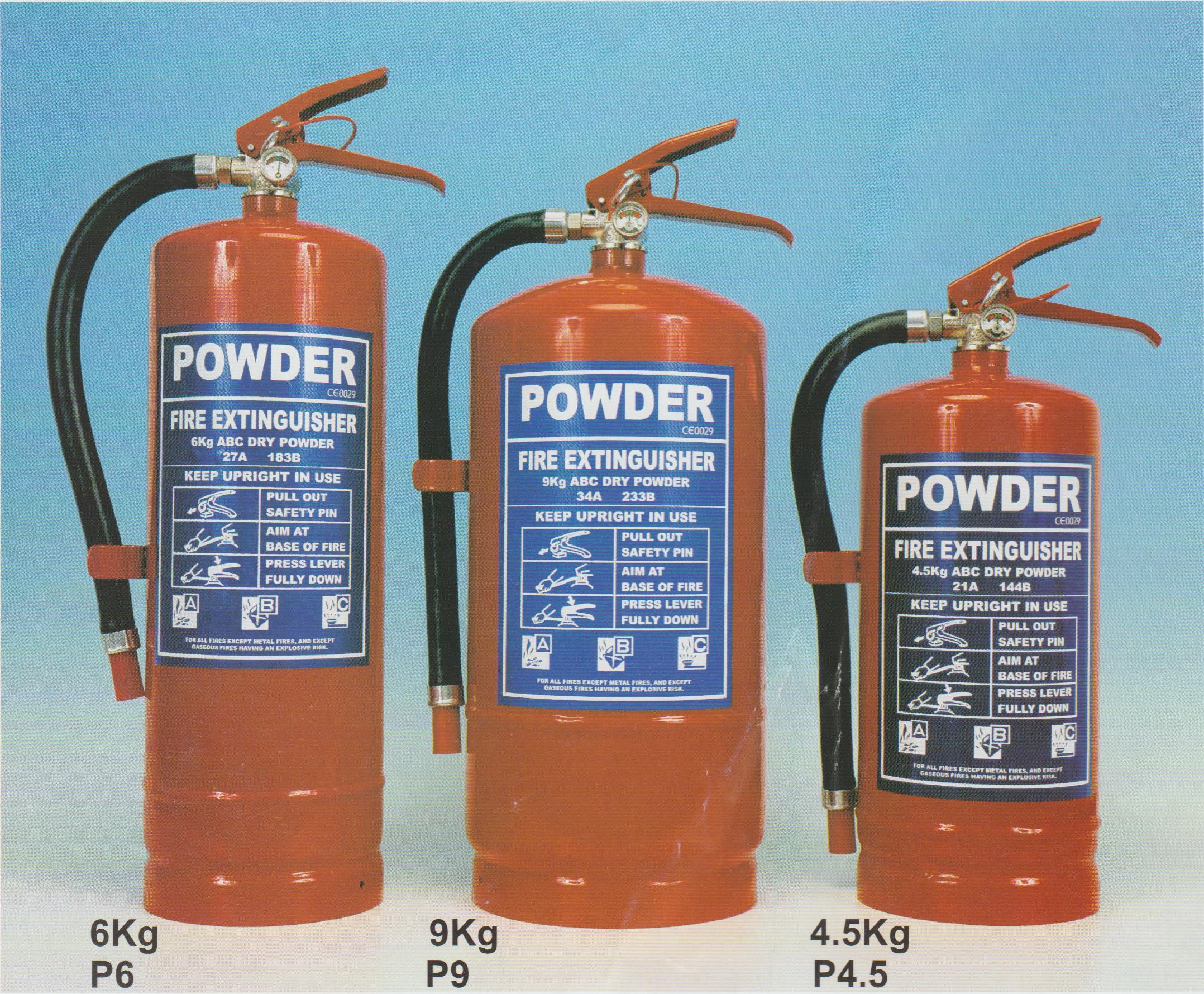 9 kg , 6 kg , 4 kg,ABC DRY Powder Extinguishers 001