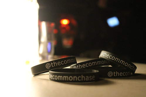 The Common Chase Rubber Bracelet
