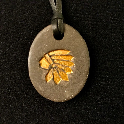 #1207   Indian Medallion Necklace