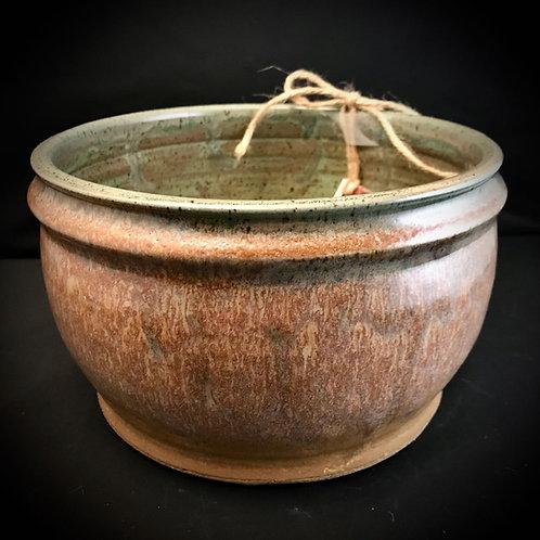 #1754     Stoneware Casserole Server Bowl