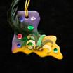 Louisiana iCraft it Decorated Ornament