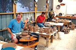 Keith- 1st Class at Jepson Pottery