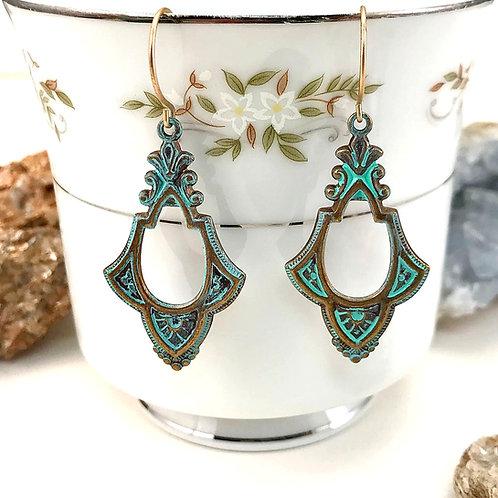 #1573   BOHO Dance Earrings