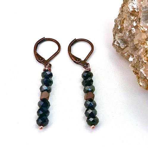 #1414   Spinel Earrings