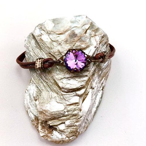 #1545   Amethyst in Bloom Bracelet