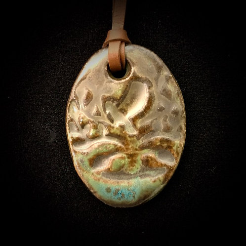 #1200   Tree of Life Medallion Necklace