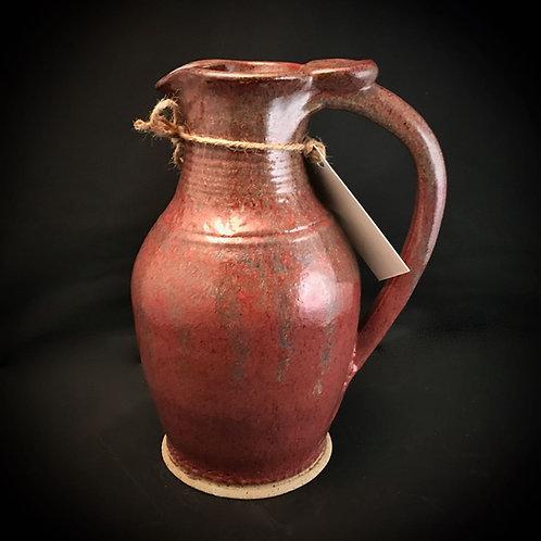 "#1734    Plush 10"" x  6"" Stoneware Pitcher"