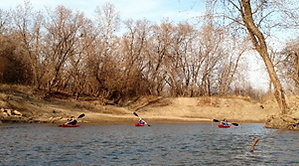 Kayak and Canoe Float